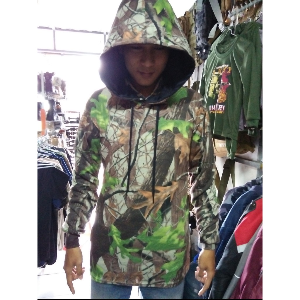 BEST SELLER Baju Kaos Panjang Camo Perbakin Oak Tree Hunting MURAH MERIAH | Shopee Indonesia