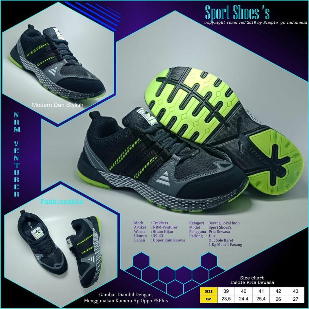 Sepatu Running Ardiles Songa Jj Biru Navy 39 43 Shopee Indonesia Men Edogawa Hitam