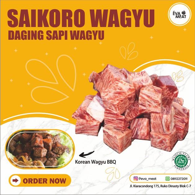 saikoro / saikoro wagyu / wagyu saikoro / saikoro meltique / wagyu bandung / saikoro bandung / cube