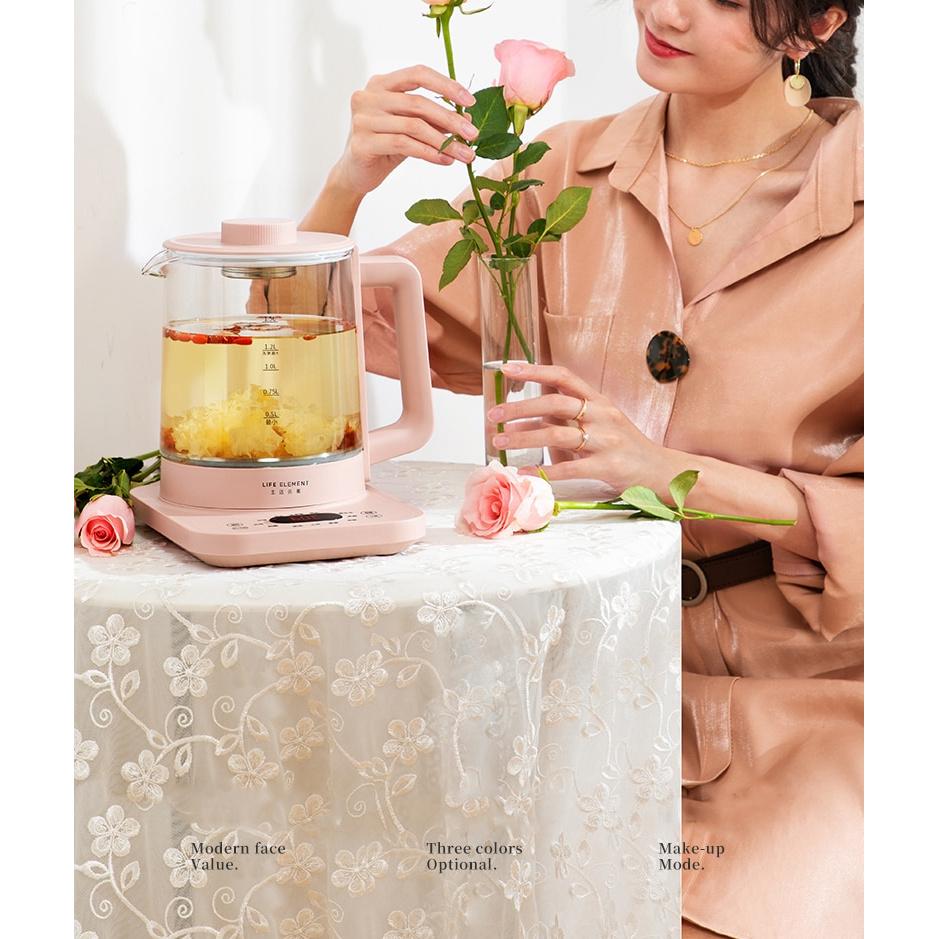 High Quality... 1.5L Electric Kettle Health Preserving Pot Glass Boiled Tea Pot  Multifunction Tea