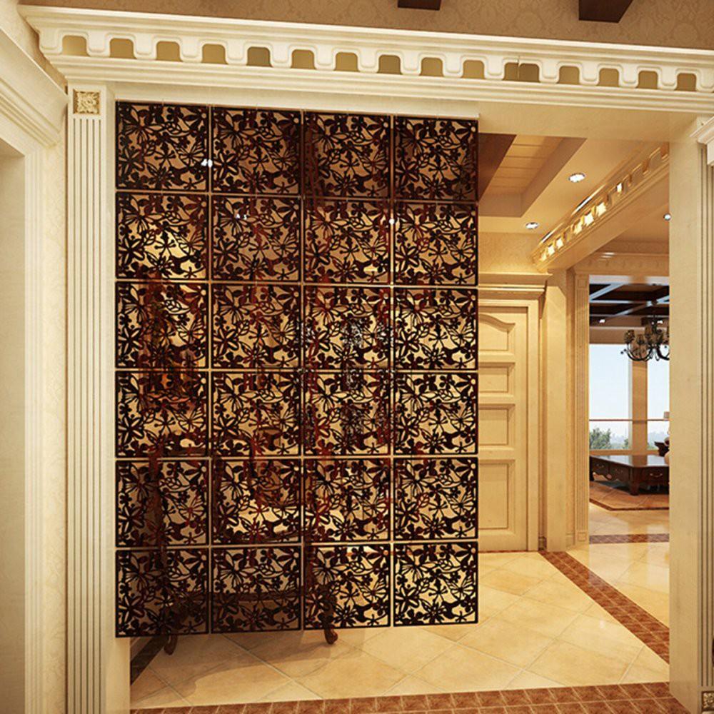 Pemisah Ruangan Partisi Tirai Model Gantung Dekorasi Bahan Pvc