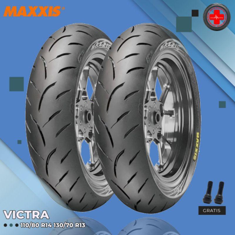 Paket Ban Motor HONDA ADV // MAXXIS VICTRA 110/80 Ring 14 - 130/70 Ring 13 Tubeless