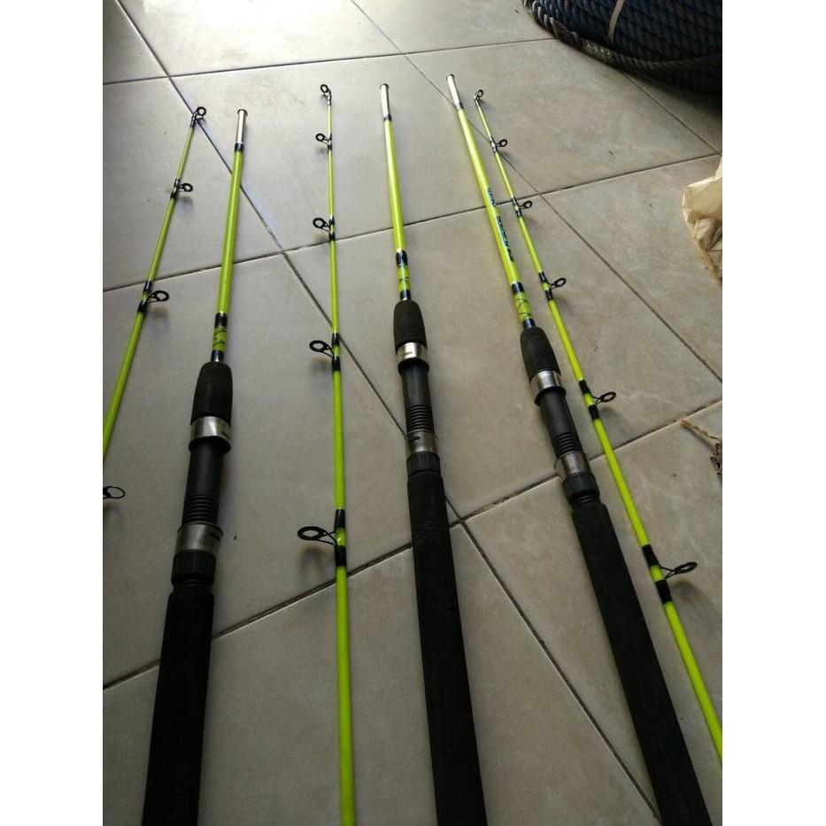 Elitesport Gun Handle Joran Pancing Carbon Fiber Telescopic 2 Stik Alat Rod Versus Maximus 270 Sport Segments 18m Pancingan Ikan Stok Shopee Indonesia