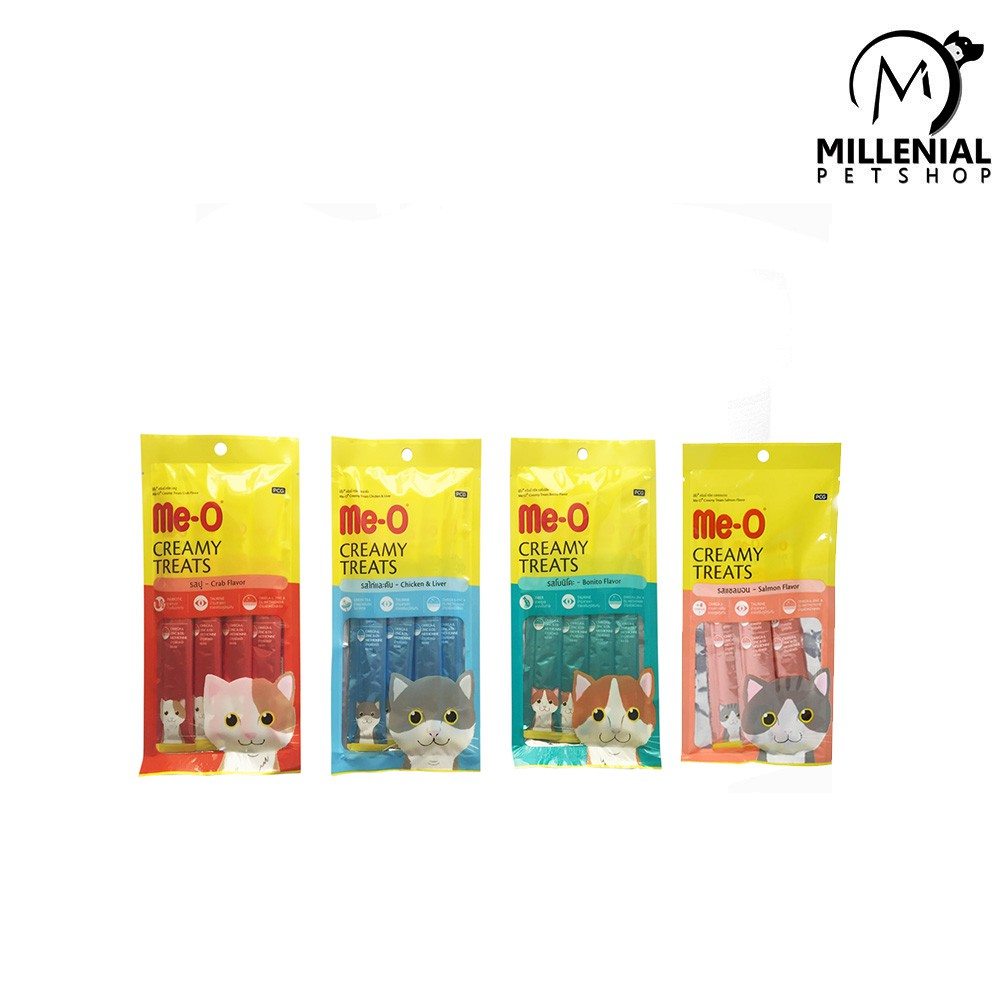 Makanan Kucing Meo Creamy Treats 15gr Snack 15 Gr All Variant
