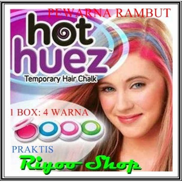 PROMO Hot Huez Temporary Hair Chalk - Pewarna Rambut Sementara MURAH ... 8e27b19854