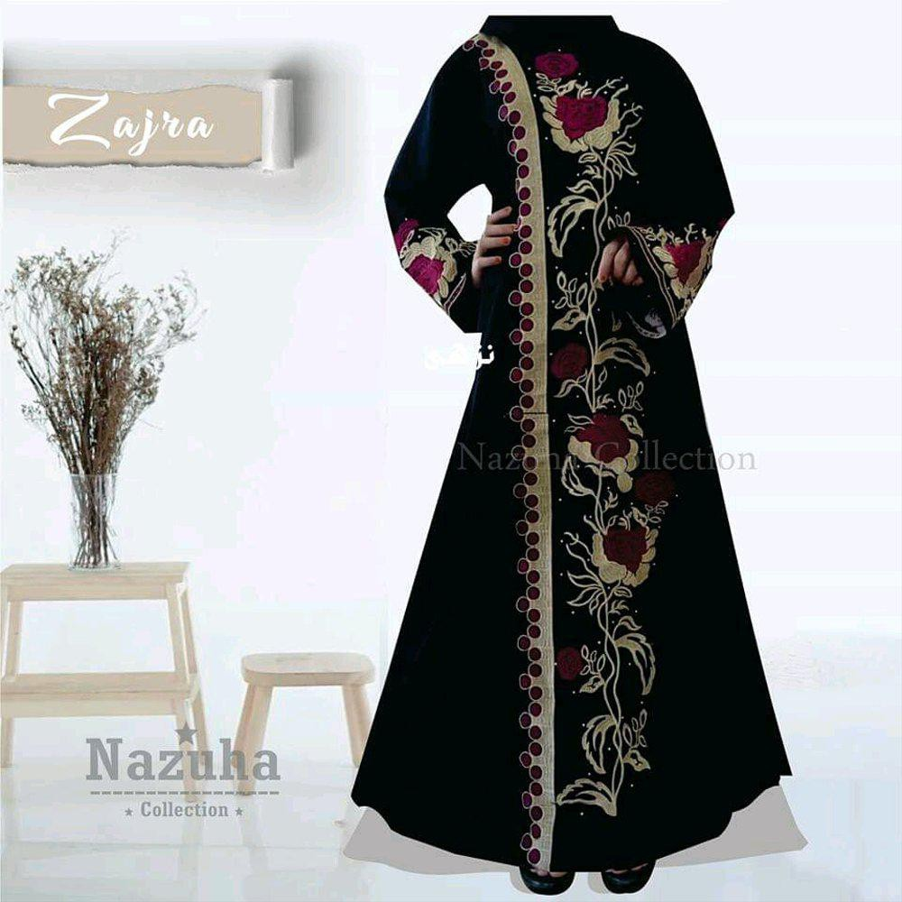 Paling Terlaku Arabic Wear Na 10  Baju Gamis Pesta Abaya-Umroh-Jumbo-Big  Size-Set Gis