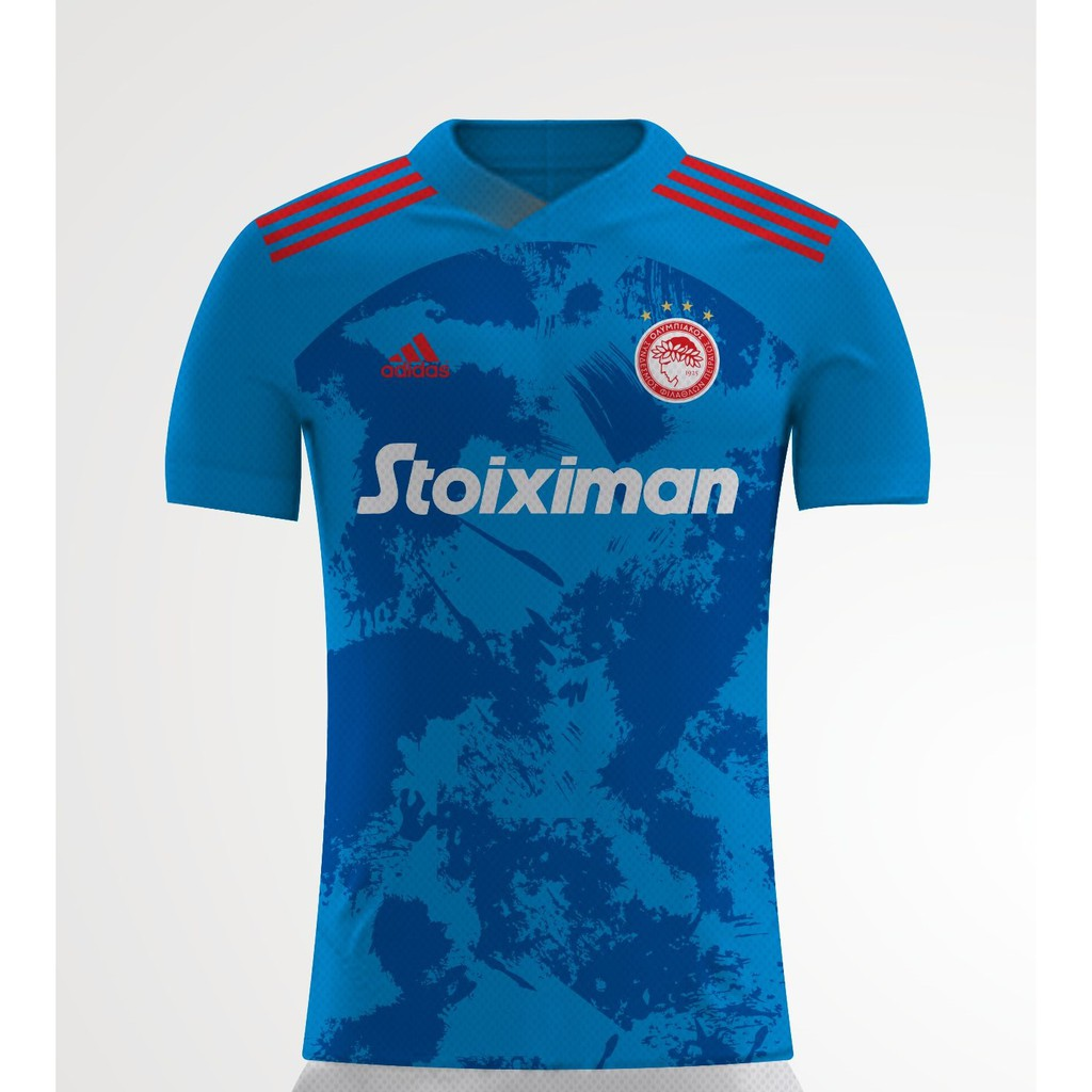Jersey Olympiacos Away 2020 2021 Shopee Indonesia