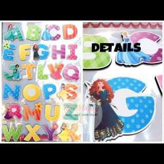 sticker wallpaper wallstiker stiker huruf/ abjad