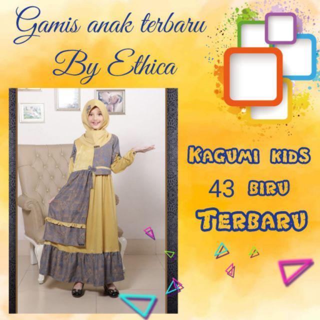 Baju Gamis Anak Wanita Terbaru Ethica Sarimbit 2020 Shopee Indonesia