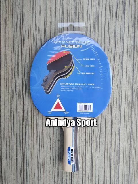 Bet Pingpong Kettler Tennis Table Bat Fusion Shopee Indonesia