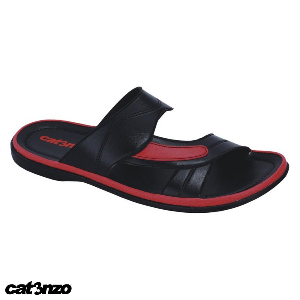 Save 24 Sandal Slide Idiskon Dr Kevin Mens Sandals 1646 Black Hitam 39 Pria Original Catenzo I