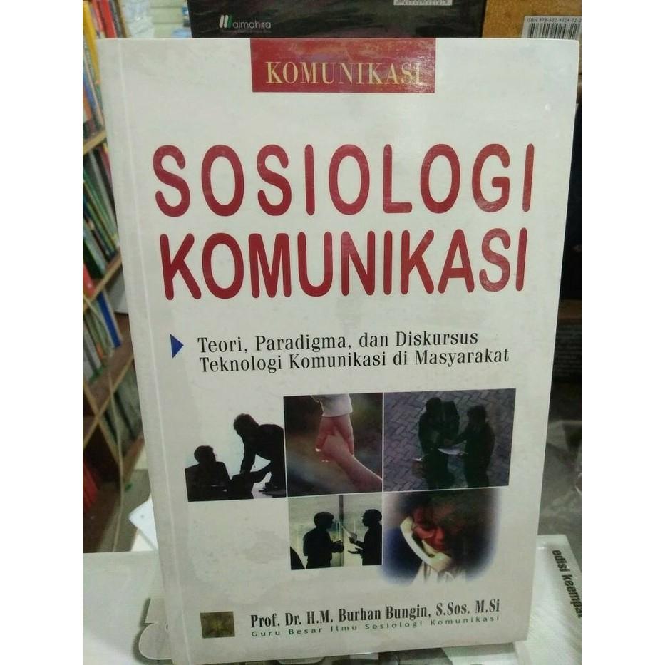 Sosiologi Komunikasi Burhan Bungin Ebook