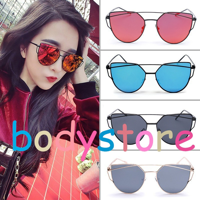 Kacamata Hitam Wanita dan Pria Korean Desgin Oval Candy Color Sunglasses  Women Men Young People  390942a409