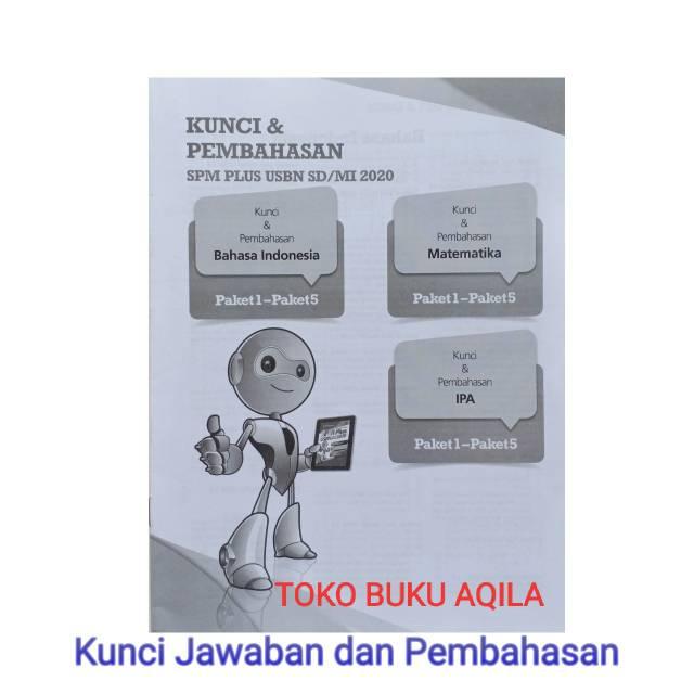 Buku Spm Plus Usbn Sd Mi 2020 Dilengkapi Kunci Jawaban Shopee Indonesia