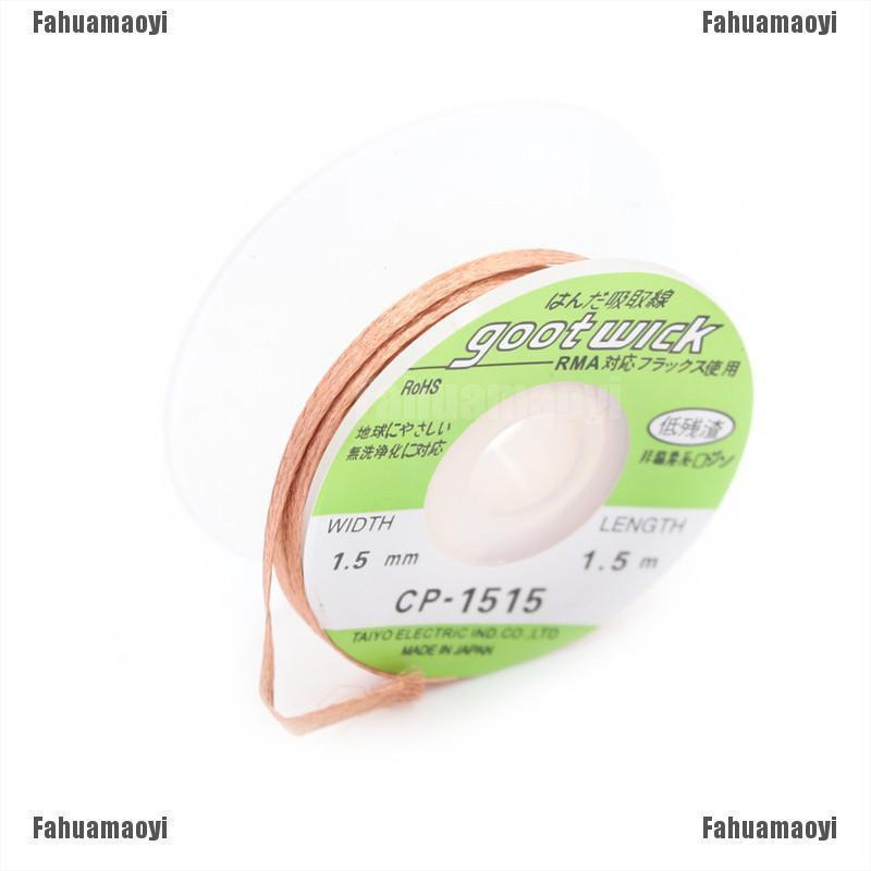 CP-1515 1.5mm 1.5m Desoldering Wick Desolder Braid Soldering Remover Tool FO