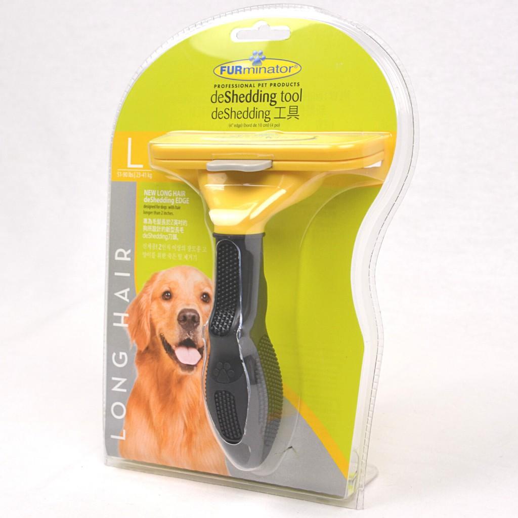Furminator Sisir Rontok Anjing Deshedding Tool Dog Short Hair Large Shopee Indonesia