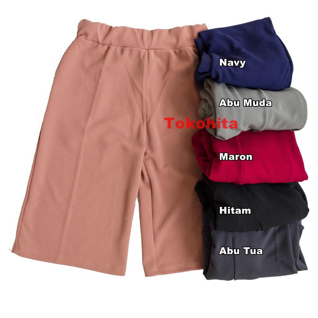 Celana Kulot 7/8 MatCrepe / Celana Kulot Wanita Terbaru / Termurah Konveksi Sendiri / Grosir Celana | Shopee Indonesia