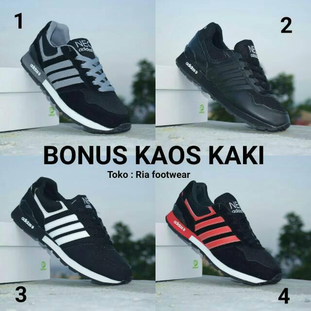 PROMO sepatu adidas neo racer sepatu pria wanita sneakers Basketball high  sneakers olahraga basket  5b5fc63023