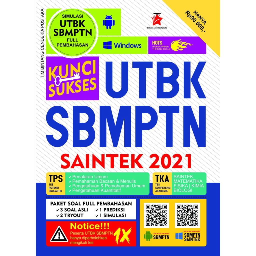 Buku Kunci Sukses Utbk Sbmptn Saintek 2021 Terbaru Terupdate Bintang Cendekia Pustaka Shopee Indonesia