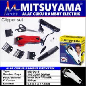 Paket Hemat Mesin Cukur Rambut HK-900 Plus gunting zigzag peralatan barber.   86e3b133ff