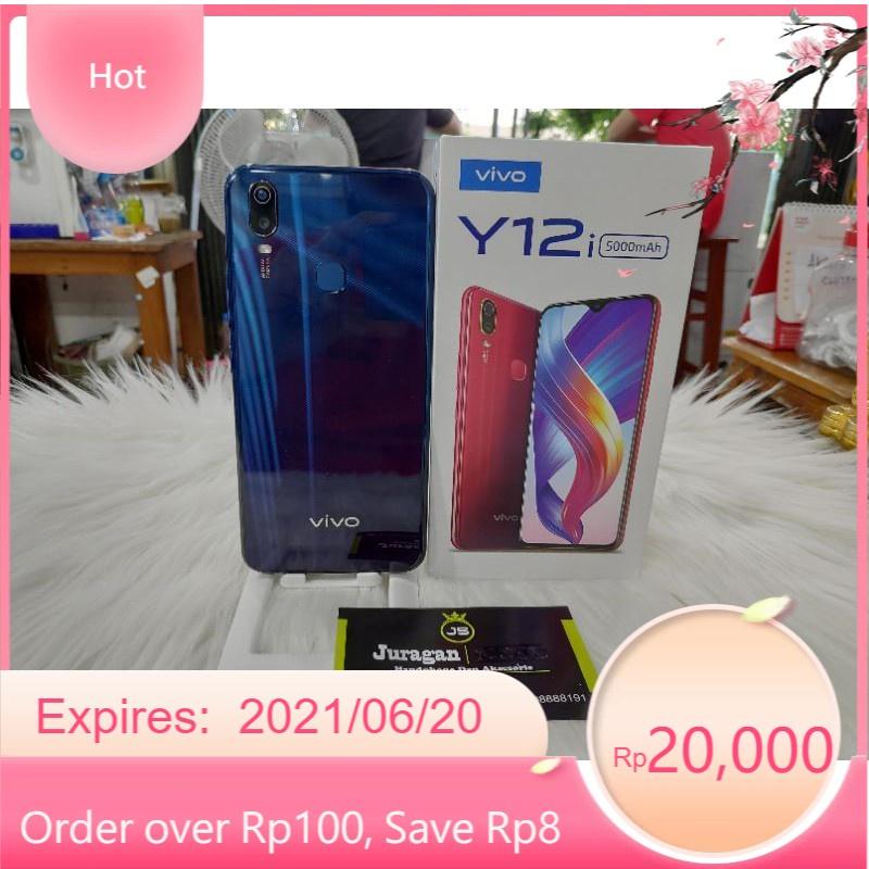 VIVO Y12i RAM 3GB INTERNAL 32GB HP SECOND SEKEN BEKAS VIVO Y12 RAM 3/32 MULUS FULLSET MURAH
