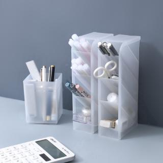 Muji Style 4 Grid Desktop Storage Multi-function Box  Desk Pen Pencil Case Make Up Cosmetic Holder #4