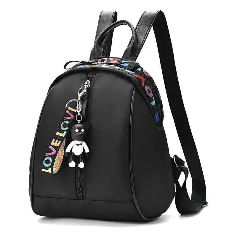 Premium Import Canvas Backpack Ransel 3 in 1 Motif Polka Lucu Tas Punggung  Import Tas 3in1  2343e1a837