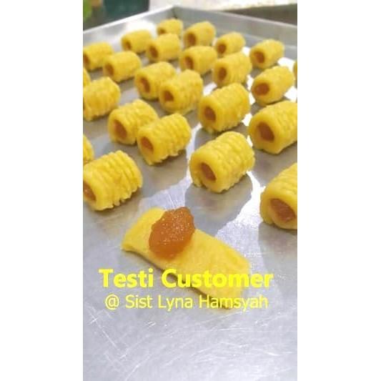 Cetakan Kue Nastar Gulung Dorong Praktis Rapi Bagus Kue Kering Lebaran Terlaris