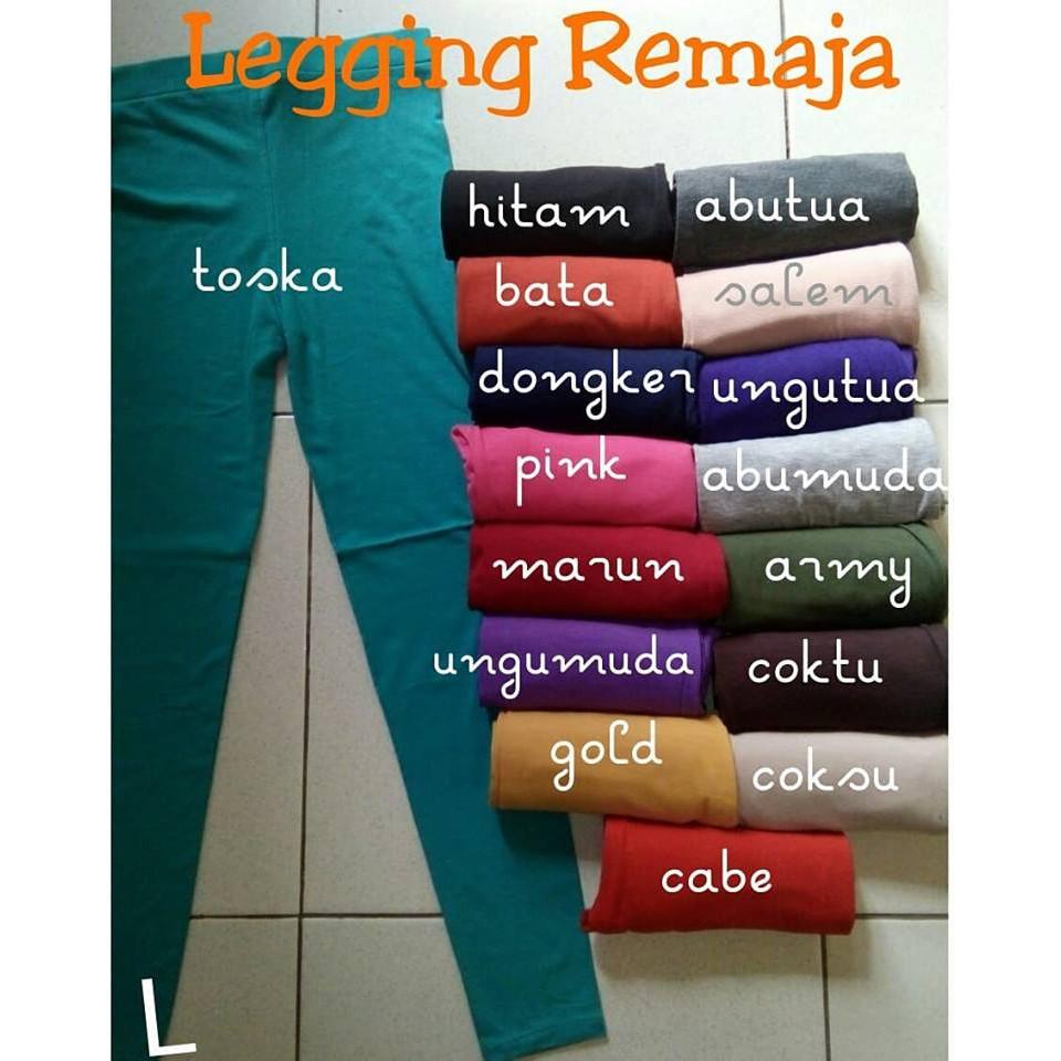 Legging Remaja Legging Anak Sd Dan Smp Legging Dewasa Shopee Indonesia