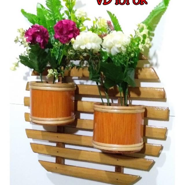 Vas Bunga Bambu Shopee Indonesia