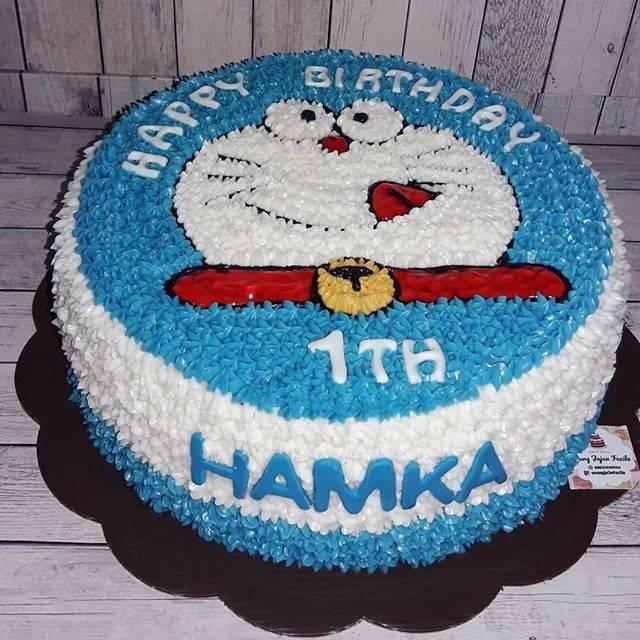 Kue Ulang Tahun Doraemon Cake Ultah Blackforest Vanilla