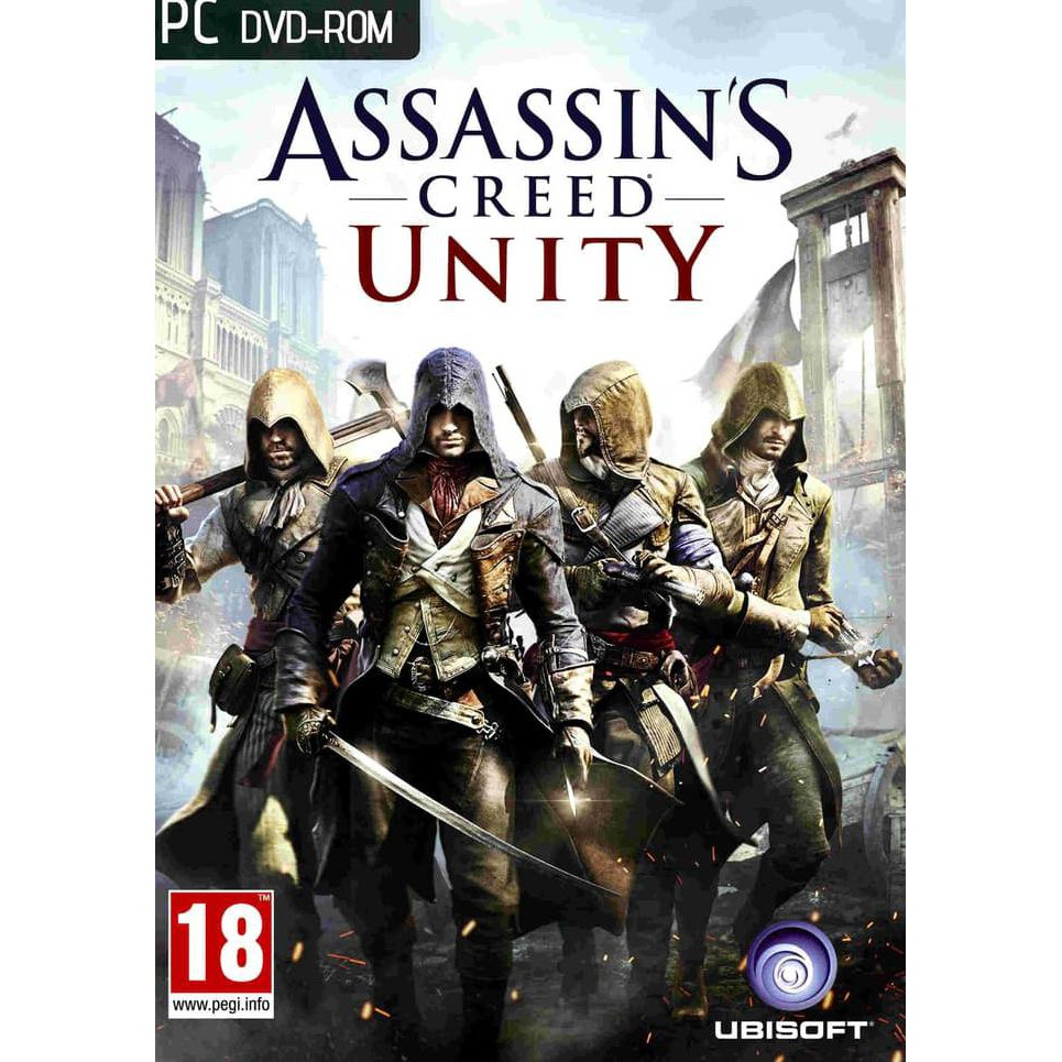 Open Ds Pc Games Assasins Creed Unity Shopee Indonesia