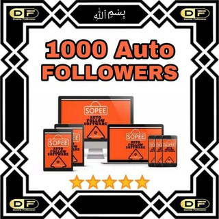Software Marketing Shopee 1000 Auto Followers Follower Pengikut