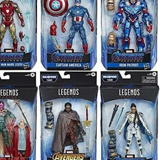 Marvel Legends Iron Man Mark 85 Avengers Issue Figure No Fat Thor BAF en main!