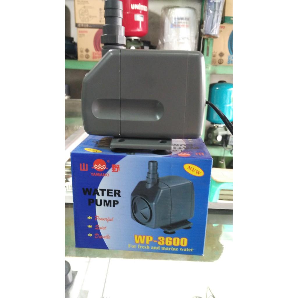 Pompa Aquarium Yamano Wp 3600 Water Pump Low Noise  103 Shopee Indonesia