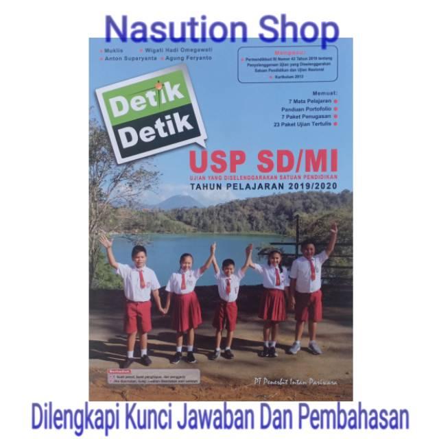 Promo Buku Detik Detik Usp Sd 2020 Plus Kunci Jawaban Terbaru Shopee Indonesia
