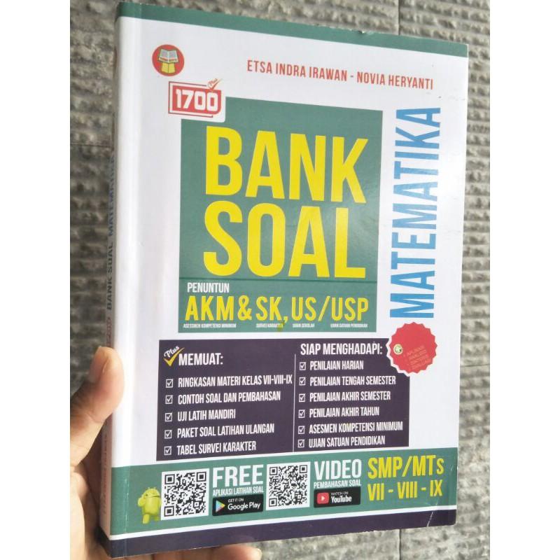 Buku Soal Smp 1700 Plus Bank Soal Akm Matematika Smp Mts Edisi Baru Shopee Indonesia