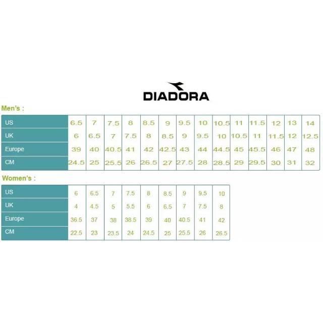 Size Chart Diadora Dan Airwalk Shopee Indonesia