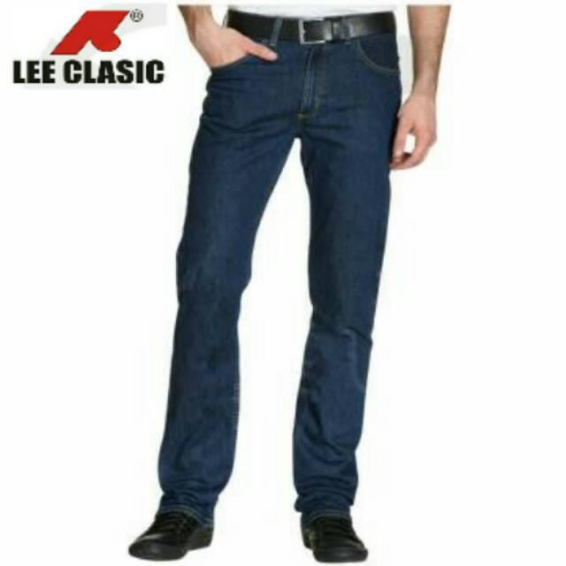 Celana Jeans pria Lee clasic 100% original size 28-44 SKU08   Shopee Indonesia