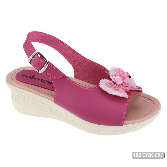 Sandal Wedges Casual Anak Perempuan krem Catenzo Junior CNR 020 murah  58e56837b9
