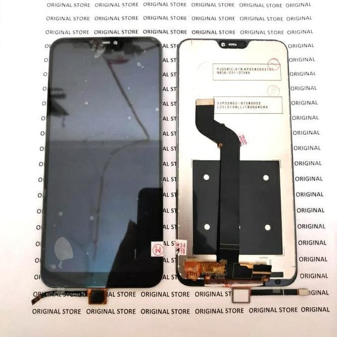 LCD XIAOMI MI A2 LITE ORIGINAL LCD TOUCHSCREEN XIAOMI MIA2 LITE - HITAM