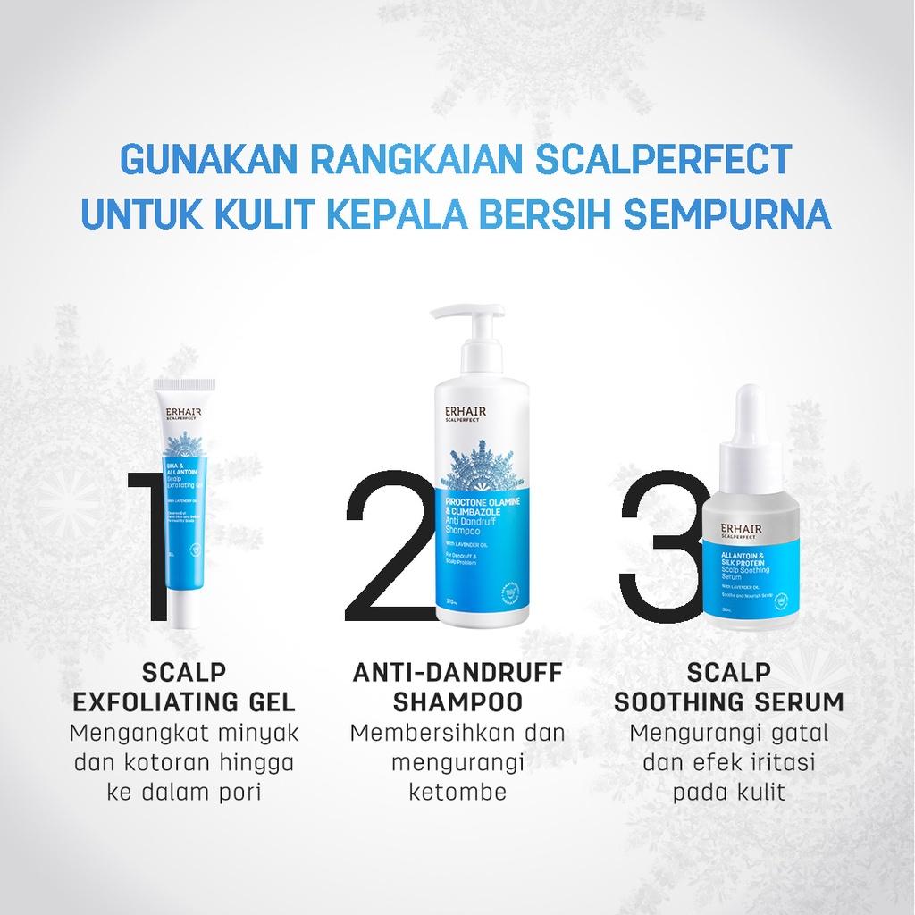 ERHAIR Scalperfect Anti Dandruff Shampoo - Sampo Anti Ketombe & Seboroik-2