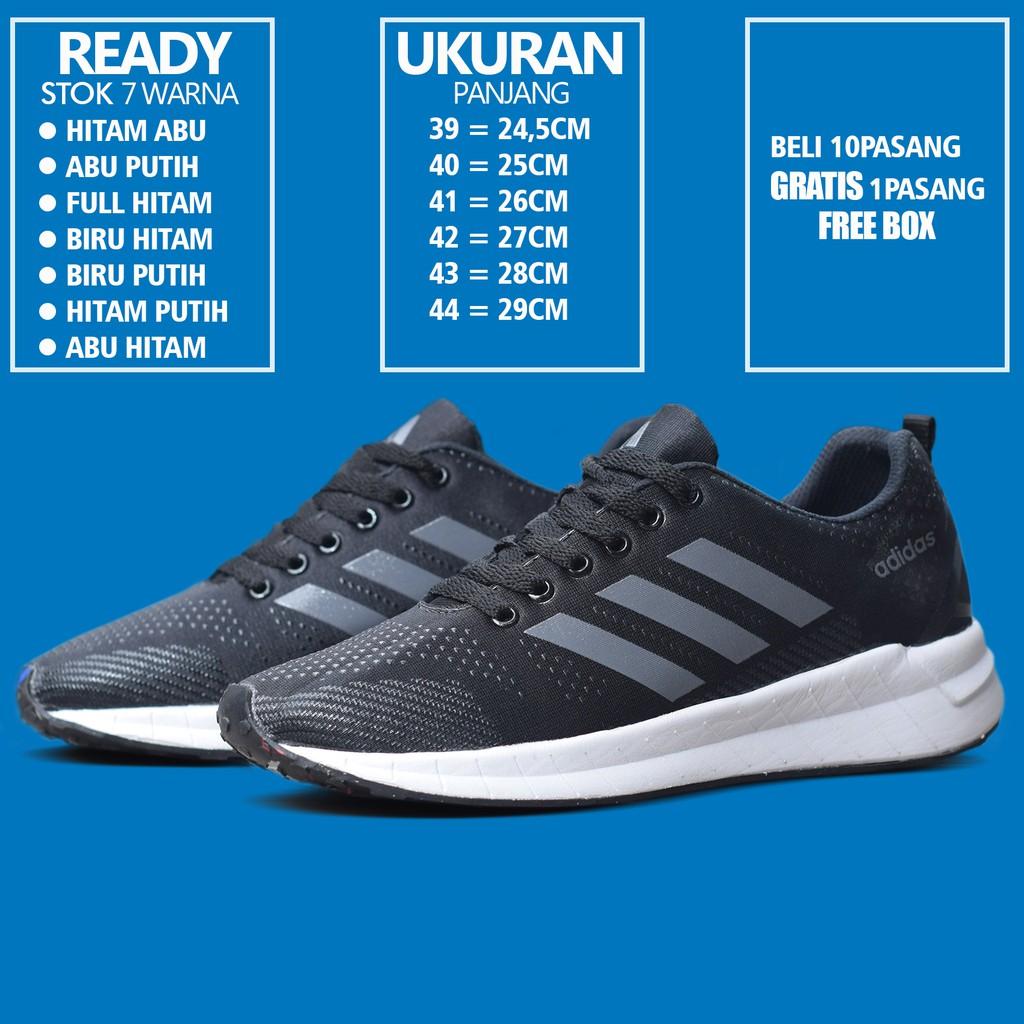 9b0e75f4a871 Sepatu Adidas Equipment EQT Premium Red Merah Blue Black Grey Fullwhite  Grade Original Sneakers Pria
