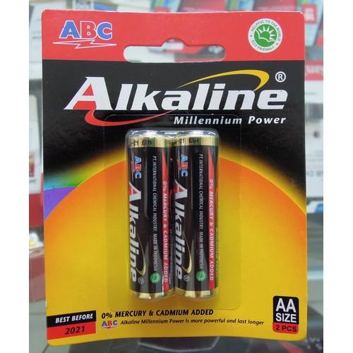 Baterai KOTAK 9V ABC ALKALINE Battery Hitam 9 V Volt 6LR61 Remote | Shopee Indonesia