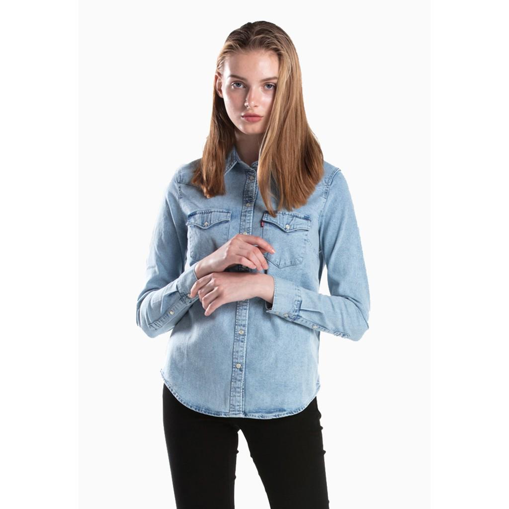 Atasan Wanita Levis Daftar Harga November 2018 Sadie Shirt Oriole Poinsettia Print Red 39676 0006 Merah M Ultimate Western Radio Starr 58930 0010