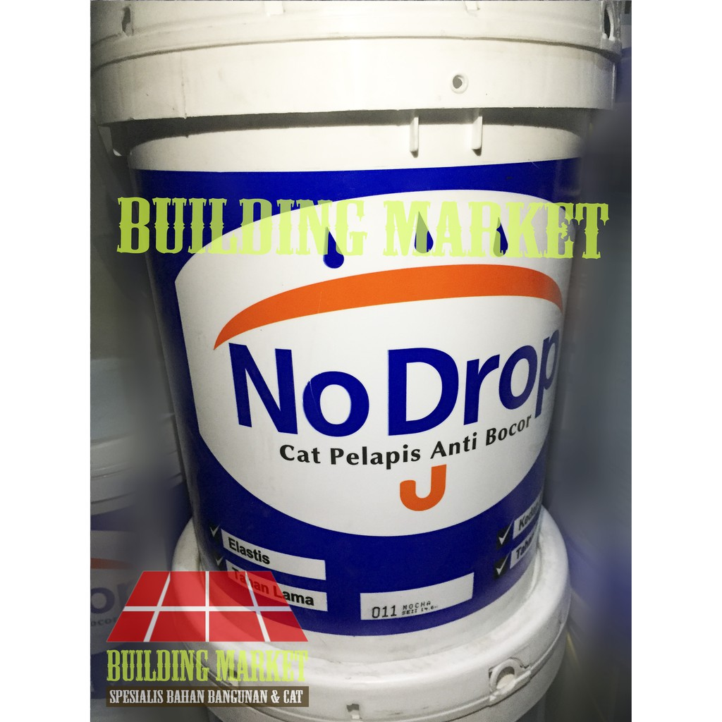 CAT TEMBOK EXTERIOR NO DROP WATERPROOFING 20 KG READY MIX ...