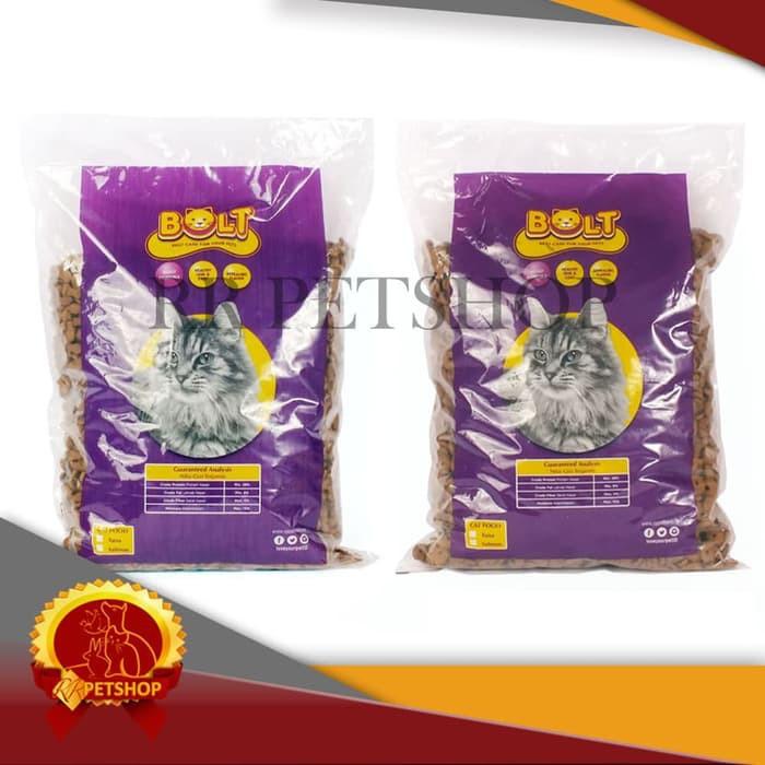 Makanan Kucing Bolt Repack 1 Kg Repack Bolt 1kg Cat Food Bolt