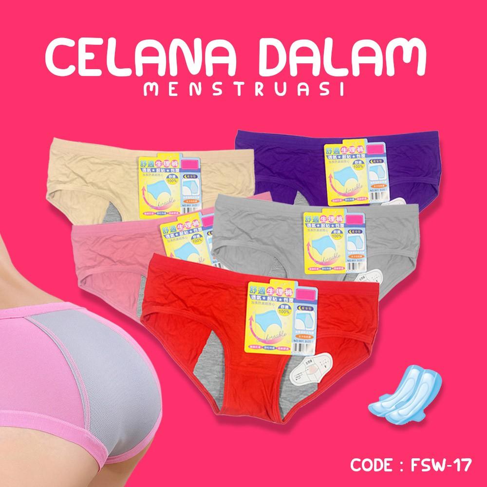 CD Menstruasi - Celana Dalam Menstruasi - ANTI BOCOR - FSW-17 ... 66da1f505b