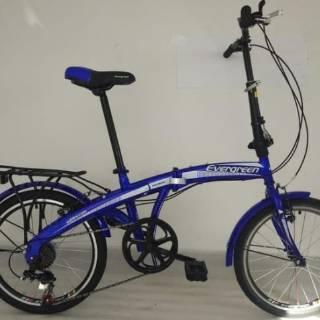 Evergreen Sepeda Lipat 20inch Harga Murah Kualitas Bagus