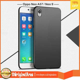 Case Slim Black Matte Oppo A37 / Neo 9 Baby Skin Softcase Ultra Thin Jelly Silikon Babyskin